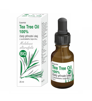 Tea Tree olej BIO (Melaleuca alternifolia) 25ml